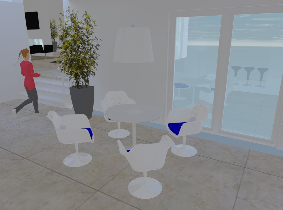 20181009 3D Kitchen table
